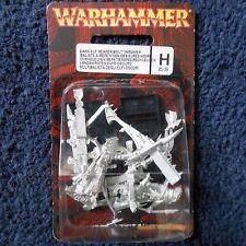 2002 Dark elf reaper Perno lanzador ciudadela repitiendo Repetidor Xbow Warhammer MIB