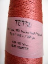 Tetsu 15g by Ito Fine Special Japanese yarn 59% Silk 39% Stainless Steel