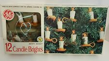VINTAGE GE GENERAL ELECTRIC MERRY MIDGET CANDLE BRIGHTS CHRISTMAS TREE LIGHTS