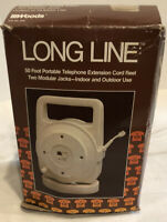 Vintage Woods Wire Products - Long Line - 50' Portable Telephone Extension Cord