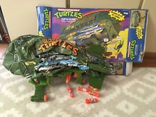 Original Teenage Mutant Ninja Turtles Turtle Blimp With OG Box! TMNT, 1990's