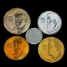 Israel Face Set Special Issue █ Personalities Leaders █ Lot of 5 Coins █ UNC
