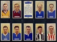 Full Set, Carreras, Famous Footballers 1935 VG (Gq908-335)