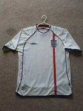 Umbro Inglaterra Fútbol Home Camisa - 01/03 - Tamaño Grande