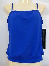 Jantzen Size 10 Blue Tankini New Womens Swimwear Top