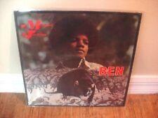 MICHAEL JACKSON Ben LP ~ ORIG 1972 MOTOWN RARE ALTERNATE RAT COVER