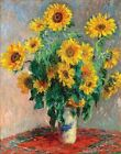 Sunflowers by Claude Monet - Art Print / Poster 11x14 inches