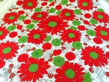 Vintage Cotton Tablecloth