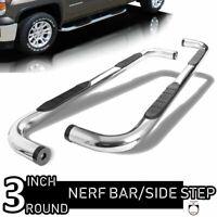 "Fit 99-16 Ford F250 F350 Super Duty Super Crew Cab 3"" Round Nerf Bar Side Step"
