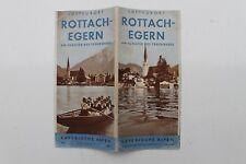 1119 Reise Prospekt Rottach-Egern Tegernsee 1936