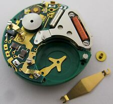 Movement ESA quartz 900 231 & 911 7 jewels 2 hands * circuit & LCD damaged *