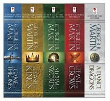 A Song of Ice and Fire books 1-5 by George R.R. Martin (Paperback)