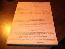 APRIL 1956 NKP NICKEL PLATE ROAD REPORT OF FREIGHT REFUSED OR UNCLAIMED