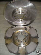 MK4 GOLF 2.3 V5 GOLF 2.8 V6 4MOTION FRONT BRAKE DISCS AND PADS-NEW COATED DESIGN