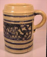 Rarer alter Steinzeug Krug Hilgert um 1700 Westerwald