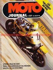 MOTO JOURNAL  237 SMAC 375 TZ 350 Eric Offenstadt BSA USA ONTARIO BOL d'OR 1975