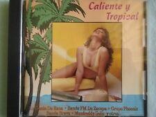 """CALIENTE Y TROPICAL ""TROPICAL CARIBBEAN SALSA AUDIO CD FROM GUATEMALA"