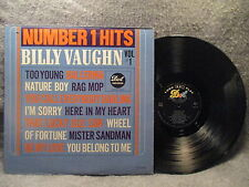 33 RPM LP Record Billy Vaughn Number 1 Hits Vol 1 Dot Records DLP-3540