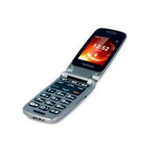Teléfonos móviles libres de color principal gris con tapa