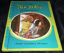 SIGNED The New Year's Mystery by Joan Lowery Nixon (1979, Hardcover)