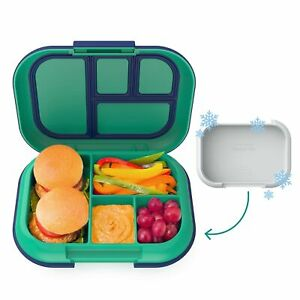 Bentgo Kids Chill Lunch Box - Bento-Style Lunch Solution with 4 Compartme... New