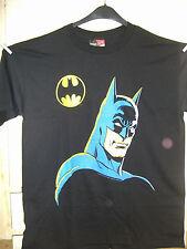 VINTAGE T-Shirt: Batman head with Bat-simbolo (L) (USA, 1989)