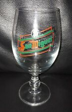 RARE COLLECTABLE SAN MIGUEL 250ML BEER GLASS IN GOOD USED CONDITION