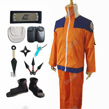 Anime Naruto Cosplay Costume  Uzumaki Cosplay 1 Generation 1nd Full Set Clothes