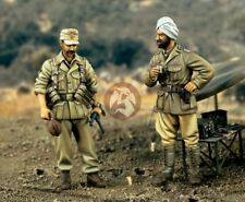 Verlinden 1/35 Foreign Volunteers India German DAK Afrika Korps (2 Figures) 1392