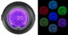 52mm Digital Turbo Boost Gauge 35psi 7 Colour Light VW Audi Seat TFSi 1.8T 20v
