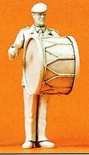 Preiser 64355 Military Band Large Drum Scale 1:3 5 Unpainted OB
