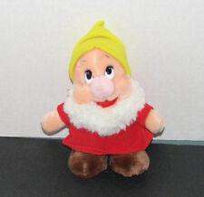 Disney Snow White Plush Dwarf 8 Inches