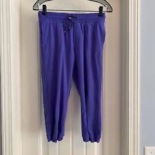 Ivivva Lululemon Girl's Size 14 Get Your Move On Crop Capri Pants Purple
