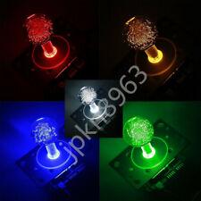 US Arcade LED Illuminated Joystick Colorful Switchable from 4 to 8 way operation