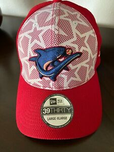 CLEARWATER THRESHERS NEW ERA 39 THIRTY STITCHED HAT - BRAND NEW - SIZE L/XL