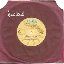 Uriah Heep Free Me Australian 45 record on Bronze (1977)