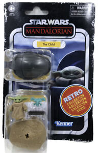 Star Wars Retro Collection The MANDALORIAN The Child Action Figure 3.75