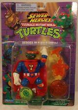 Teenage Mutant Ninja Turtles Sewer Heroes Super Mike Michaelangelo Orange Weapon