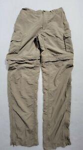 Magellan Fish Gear Convertible Zip-Off Pants Shorts Mens Size Small