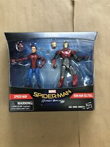 Marvel Legends Homecoming Spiderman Sentry Iron Man 2 Pack New Sealed Box