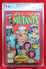 NEW MUTANTS #87 (1990 Marvel) PGX 9.6 NM+ Near Mint Plus - FIRST CABLE +CGC!!!