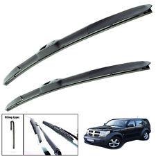 Dodge Nitro SUV Bosch Superplus Spoiler Driver Window Windscreen Wiper Blade
