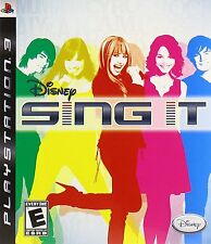 Disney Sing It (Playstation 3 PS3) - NEW - FREE SHIPPING