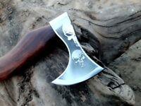 MDM AXE TOMAHAWK VIKING HATCHET KNIFE COMBAT AXE DEAR MAN ENGRAVED ON BLADE AXE