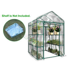 Garden Greenhouse Green Plant House Shed Storage PE Cover  Roof No Shelves