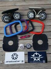 Skatestar Drift Skates Custom bundle for Silver and Black skates with extras!