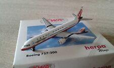 TWA Boeing 757-200 HERPA-WINGS Nr 503761 1/500