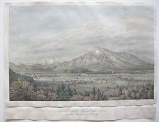 Original-Lithographien (1800-1899) aus Österreich mit Landschaftsmotiven