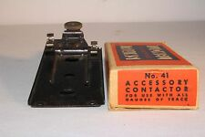 LIONEL TRAINS NO. 41, ACCESSORY CONTACTOR,  O SCALE, BOXED