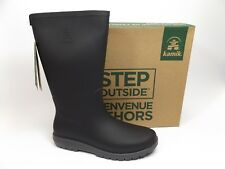 Kamik Women's Jessie Rain Boot, Charcoal Black, SZ 40 US 9.0 M NEW DISPLAY D9033